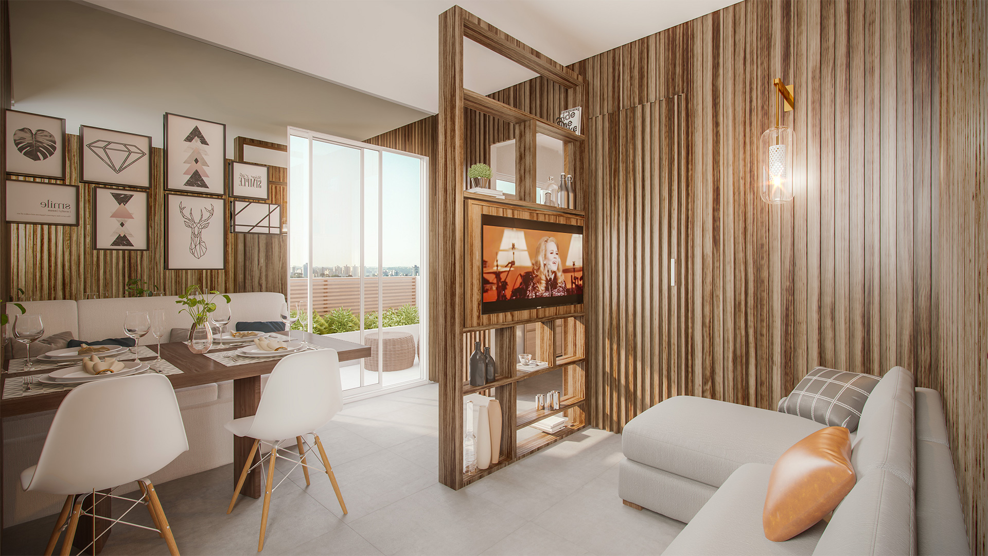 Living Tipo B Penthouse